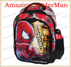 free shipping new kid the amazing spider man 2 movie bag