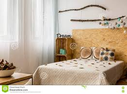 Diy Home Decor Bedroom by Creative Diy Home Decor In Eco Style Stock Photo Image 78377027