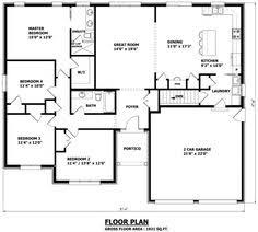 Custom House Blueprints I Love The Onsuite The Laundry And The Kitchen Canadian Home