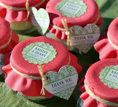 wedding favor jars jar candle wedding favors