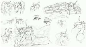 mlp sketch rundown by earthsong9405 on deviantart