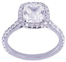 cushion cut diamond engagement rings 14k white gold cushion cut diamond engagement ring halo art deco