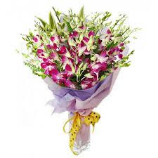 purple orchid flower flower bouquets