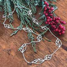long leaf necklace images Long leaf necklace by garden of silver garden of silver jpg
