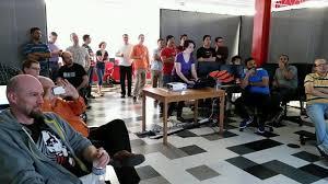 coder class senior class presenting unfin coder cs office photo