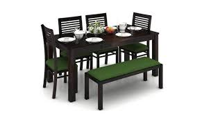4 seater dining table with bench arabia xl storage zella 6 seater dining table set with