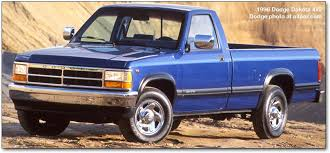 last year for dodge dakota dodge dakota mid sized trucks 1987 1996