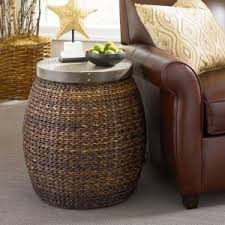 Rattan Accent Table Wicker End Tables Side Tables Hayneedle