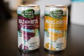 bud light can oz bud light launches new raz ber rita and mang o rita flavors