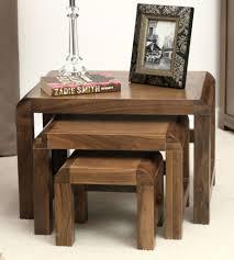 remarkable shiro solid walnut furniture nest three