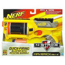 Nerf N Strike Maverick Colors May Vary Amazon Co Uk Toys U0026 Games