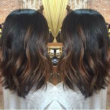 how to balayage on medium length hair diy balayage on short black hair google search hair ideas