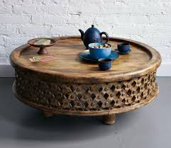 rustic coffee table with wheels rustic round coffee table bonners furniture