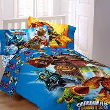 Superhero Bedding Twin Activision 64 By 86 Inch Skylanders Sky Friends Microfiber