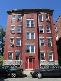modern home interior design brick apartment buildings stock