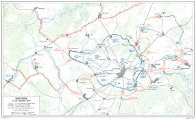 map of vi the ardennes battle of the bulge chapter 19