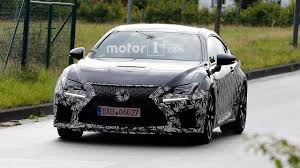 lexus rc lexus rc f refresh spy shots motor1 com photos