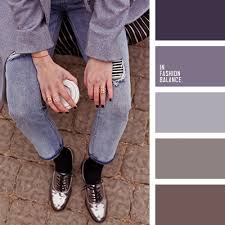 denim grey jeans lavender loafers oversize shades of ash