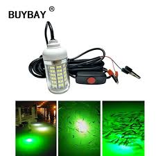 green lantern fishing light 12v underwater light 15w outdoor led fish attractor l ip68 water