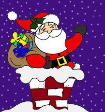 animated santa christmas santa gif find on giphy