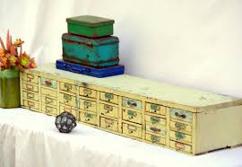 Homemade Toy Box by Rustic Antique Wooden Organizer Cabinet Long Homemade 32