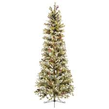 fast shape slim snow pine pre lit tree 7 1 2 hobby