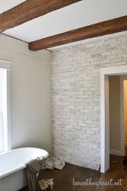 Bathroom White Brick Tiles - stunning stylish bathrooms with brick walls and ceilings dream