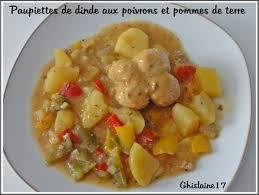 cuisiner paupiette de dinde paupiettes de dinde aux poivrons et pommes de terre ghislaine