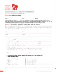 Interior Design Work Experience by Editable Interior Design Client Questionnaire Fill Print