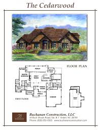 Construction House Plans by House Plans Archive Buchanan Construction