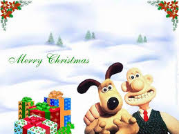 aardman images wallace gromit christmas hd wallpaper