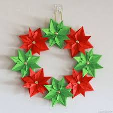 paper christmas decorations pretty paper christmas craft decoration ideas family
