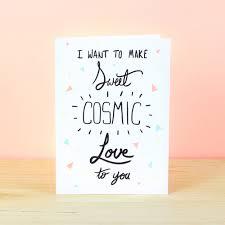 sweet cosmic greetings card ink bandit