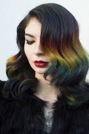grey streaks in hair chrissy teigen is embracing her streak of cruella de vil gray hair