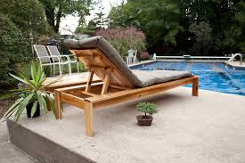 Free Plans For Wood Patio Furniture by Ana White Single Lounger For The Simple Modern Outdoor
