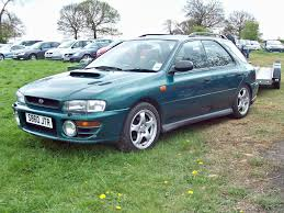 green station wagon 262 subaru impreza turbo 2000 awd station wagon 1998 flickr