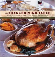 cookbook the thanksgiving table