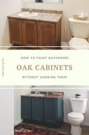 can i paint cabinets without sanding them 9 easy steps to paint bathroom cabinets without sanding them