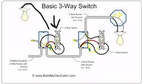 wiring diagrams three way switch diagram two light with 2 wire