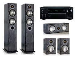 onkyo home theater system 5 1 monitor audio bronze hcs bronze 5 bronze centre bronze 1
