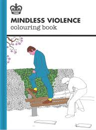 modern toss mindless violence colouring book modern toss