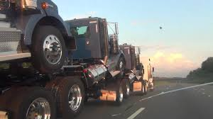 kenworth truck dealer near me brand new 2013 kenworth semi trucks being delivered by 1 driver