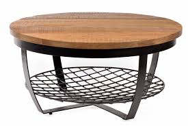 Bombay Coffee Table Bombay Coffeetable Black Iron Magowoodentop 3cm 90x90x43 Moods