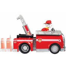 nickelodeon paw patrol roll marshall figure vehicle