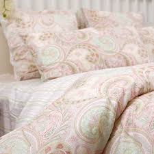 items similar to classic pink paisley duvet cover set on etsy