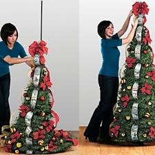flat to fabulous fully decorated pre lit 6ft tree inner