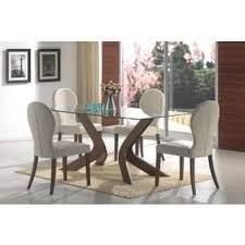 glass dining room table set glass kitchen dining room sets for less overstock