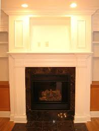 how to build a stacked stone fireplace wall brick surround