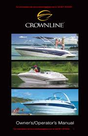 crownline owner u0027s manual by marine mega store ltd issuu