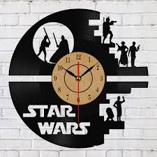 theme clock creative clock wars theme